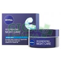 NIVEA Visage Zvláčňující noční krém normální-smíšená pleť 50ml