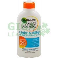 Garnier AS Mléko Light&Silky OF20 200ml C3710711