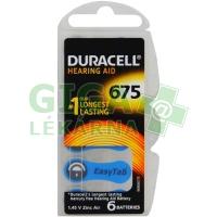Baterie do naslouchadel Duracell DA675P6 Easy Tab 6ks