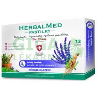 HerbalMed pastilky Šalvěj s ženšenem a vit.C 12