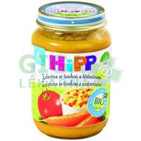 HiPP Baby Menu BIO Zelenina se šunkou a těstovinami 190g
