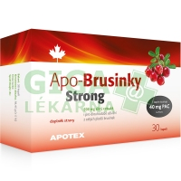 Apo-Brusinky Strong 500mg 30 kapslí