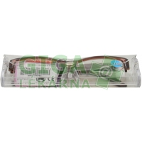 Brýle čtecí American Way v etui +3.00 hnědé