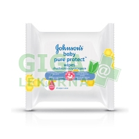 Johnsons Baby wipes Pure Protect 25ks