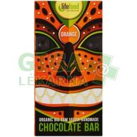 Lifefood Lifefood Chocolate BIO pomerančová 70g
