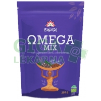 Iswari Bio Omega Mix (směs mletých semínek: 10% chia-90% hnědý len) 250g