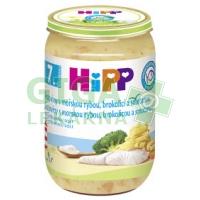 HiPP JUNIOR MENU Těstoviny s rybou, brokolicí a smetanou 220g