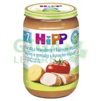 HiPP JUNIOR BIO Rajčata a brambory s kuřecím masem 220g