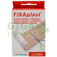 Náplast Fixaplast Classic 1mx6cm