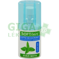 Ústní deodorant SOFTdent Fresh mint 20ml