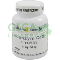 Uniospharma Koenzym Q10 30mg+rutin 60 kapslí