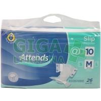 Kalhotky absorpční Attends Slip Regular 10 M 26ks