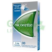 Nicorette Icemint Gum 2mg 30 žvýkaček