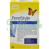 FreeStyle Optium testovací proužky 50ks