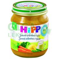 HiPP ZELENINA BIO Jemná zelenina s rýží 125g