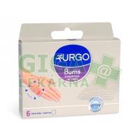URGO Burns Na popáleniny lipidokol síťka 5x5cm 6ks