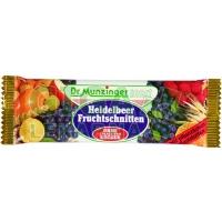 Dr.Munzinger ovocný řez bez cukru-borůvka 50g