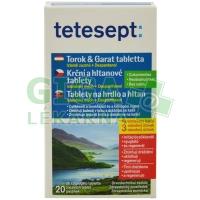 Tetesept Krční a hltanové tablety 20 tablet