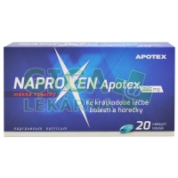 Naproxen Apotex 220mg 20 kapslí