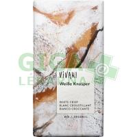 Bílá křupavá čokoláda VIVANI 100g-BIO
