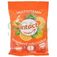 Intact hroznový cukr MULTIVITAMIN pastilky 75g