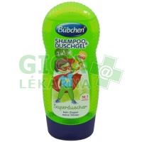 Bübchen Kids šampon a sprchový gel 230ml - Superhrdina