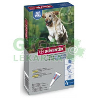 Advantix pro psy spot on dog nad 25kg 4x4ml