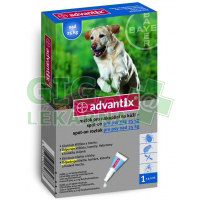 Advantix pro psy spot on dog nad 25kg 1x4ml