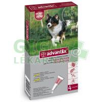 Advantix pro psy spot on dog od 10-25kg 4x2,5ml