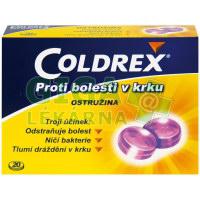 Coldrex proti bolesti krku Ostružina 20 pastilek