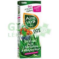 Aloe vera gel s borůvkou a rakytníkem 500ml Virde