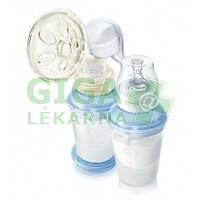 AVENT Odsávačka mateřského mléka Natural+dárek Sterilizátor