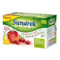 Sunárek čaj dětský jablečný se šípky 20x1.5g