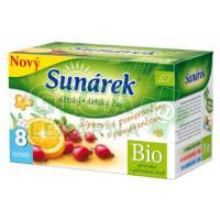 Sunárek čaj dětský šípkový s pomerančem 20x1.5g
