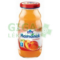 Hamánek kojenecký nápoj s broskvemi 210ml