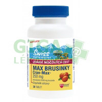 Swiss MAX Brusinky 8500mg 30 tablet