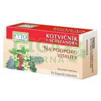 Kotvičník+Schizandra Fytopharma 30 tobolek