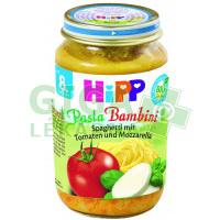 HiPP JUNIOR MENU BIO Rajčata se špagetami a mozarellou 220g