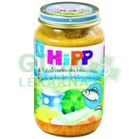 HiPP JUNIOR MENU BIO Tagliatelle s rybou, brokolicí a smet. 220g