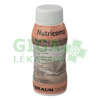 Nutricomp Drink Plus Čokoláda 200ml