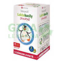 Laktobacily SWISS Imunit JUNIOR 60+12 tablet ZDARMA