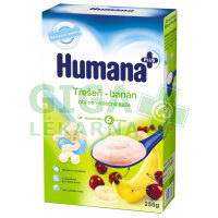 Humana kaše obilno-mléčná třešeň-banán od 6.měsíce 250g
