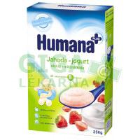 Humana kaše obilno-mléčná jahoda-jogurt od 8. měsíce 250g