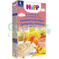 HiPP KAŠE PROBIO mléčná s broskvemi a meruňkami 250g