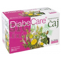 Diabecare diabetický bylinný čaj 20x2g Dr. Müller