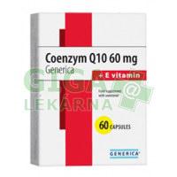 Coenzym Q10 60mg + E vitamin Generica 60 kapslí