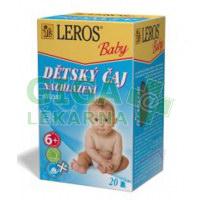 LEROS BABY Dětský čaj Nachlazení 20x2g