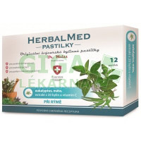 HerbalMed pastilky Dr.Weiss Eukalypt+máta+vit.C 12