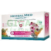 HerbalMed pastilky Dr.Weiss Echin+rakytník+vit.C 12