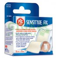 PIC Náplast bez polštářku Sensitive fix 5cmx5m